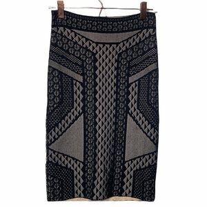 BCBG MaxAzria Nude Pencil Skirt
